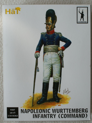 HaT 1/32 HAT9307 Wurttemberg Infantry Command (Napoleonic)